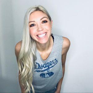 Tops - LA Dodgers // Baseball Tank Top Tee